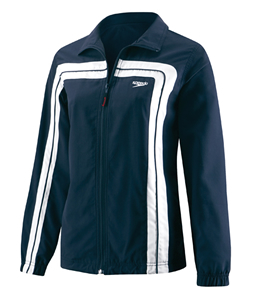 SPEEDO HYDRO VELOCITY (Velocity) Female Warmup Jacket (Navy)
