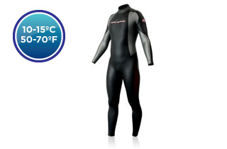 Aqua Sphere Men's WT50 Winter Full Sleeve/Leg ()