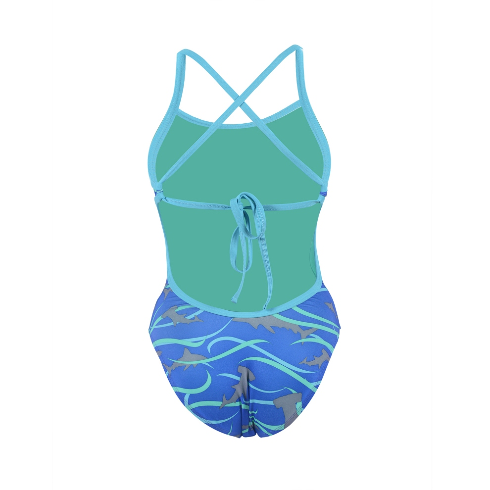 DOLFIN Bellas Tie Back 1pc - Finn Print - Metro Swim Shop ea13ee7bd5