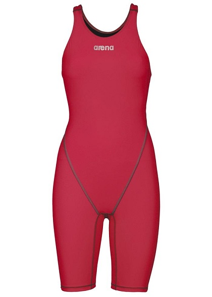 ARENA Women's Powerskin ST 2.0 Full Body Short Leg Open Back (Red (45))