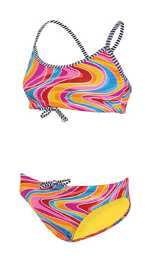 DOLFIN Uglies Female 2-Piece - Wavy (Summer 2013 Print)