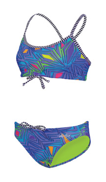 DOLFIN Uglies Female 2-Piece - Tiki (Summer 2013 Print)