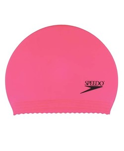 SPEEDO Solid Latex Caps (Pink)