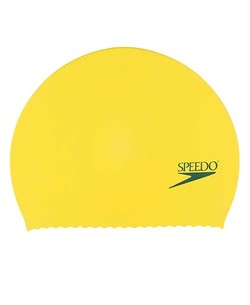 SPEEDO Solid Latex Caps (Yellow)