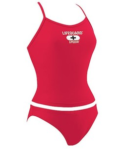 SPEEDO Lifeguard Tankini V-Back