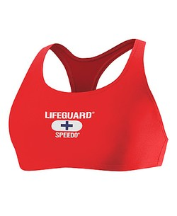 SPEEDO Lifeguard Top - Female Techno Back