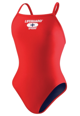 SPEEDO Lifeguard Swimsuits - Female Flyback