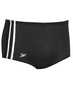 SPEEDO Nylon Striped Square Leg