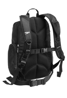 SPEEDO Large Teamster Backpack - 35L (Speedo Black (001))