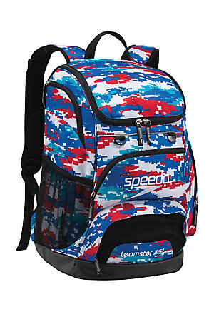 SPEEDO Large Teamster Backpack - 35L (Digi Camo RWB (964))