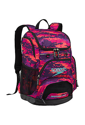 SPEEDO Large Teamster Backpack - 35L (Digi Camo Purple (540))