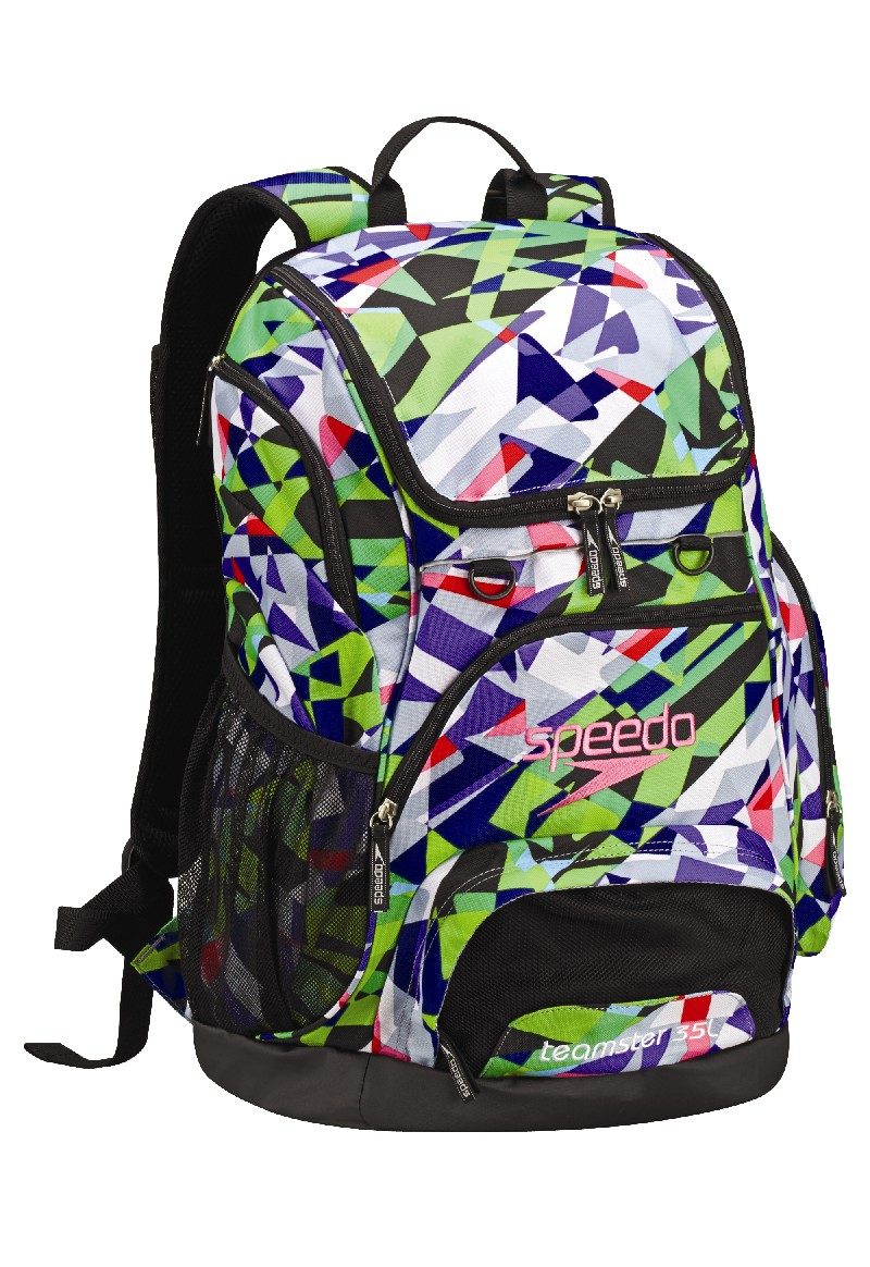 SPEEDO Large Teamster Backpack - 35L (Multi Print (782))