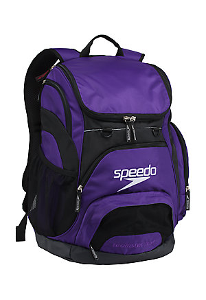 SPEEDO Large Teamster Backpack - 35L (Speedo Purple (502))