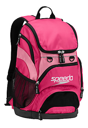 SPEEDO Large Teamster Backpack - 35L (Fuchsia Purple/Pink (673))
