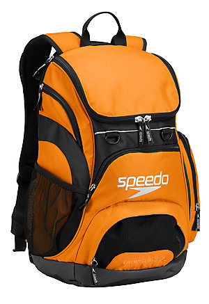 SPEEDO Large Teamster Backpack - 35L (Bright Marigold (821))