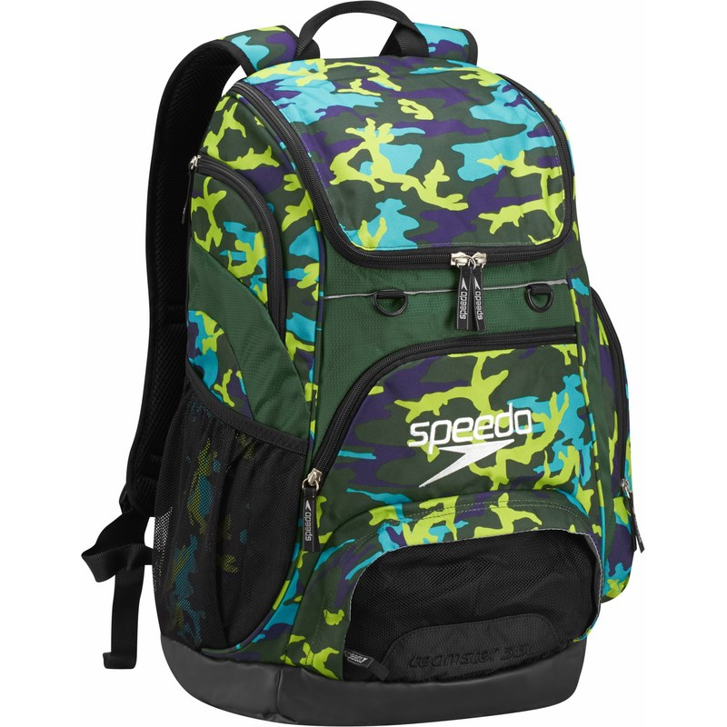 ac1ba1b626e4 Multi Green Camo(B94). SPEEDO Medium Teamster Backpack - 25L With Single  Name Monogramming