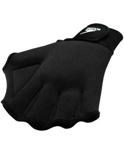 SPEEDO Aquatic Fitness Gloves Black (XL ONLY) (Black)