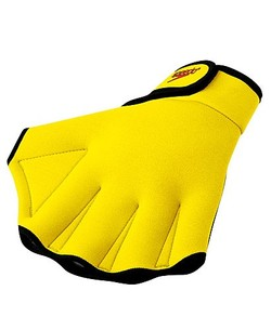 SPEEDO Aquatic Fitness Gloves (UV Yellow)
