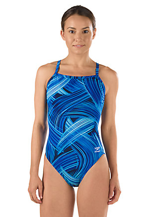 SPEEDO Endurance Turbo Stroke Flyback - Youth (Speedo Blue (431))