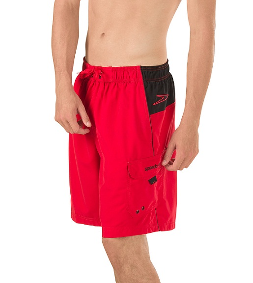 1195067ace SPEEDO Marina Sport Volley (Atomic Red (612))