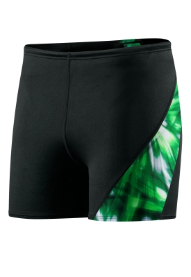 SPEEDO Male Laser Blast Spliced Square Leg (Green (003))