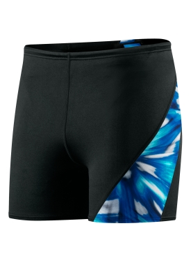 SPEEDO Male Laser Blast Spliced Square Leg (Blue (004))