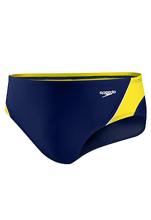 4a6eaf3aab SPEEDO Endurance Launch Splice Brief 8051409. Navy/Gold ...