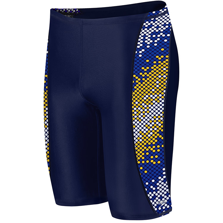 SPEEDO Endurance Razor Dot Jammer (Navy/Gold (407))