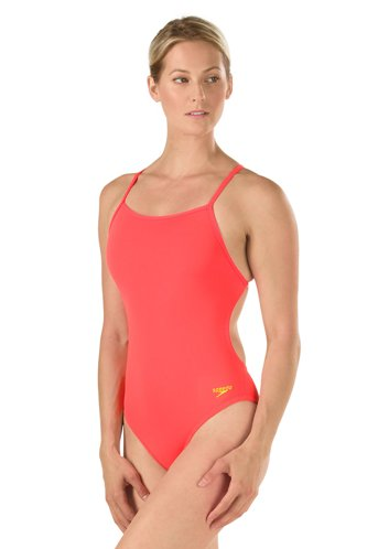 39f0455a53 SPEEDO Endurance Lite The One Back Solid Swimsuit - Metro Swim Shop