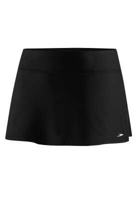 SPEEDO Solid Swim Skirt w/Compression Short