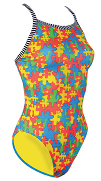 DOLFIN Uglies Female V2 Back - Jigsaw (38 Only)