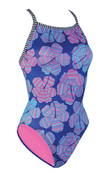 DOLFIN Uglies Female V2 Back - Hibiscus (26, 28 Sold Out)