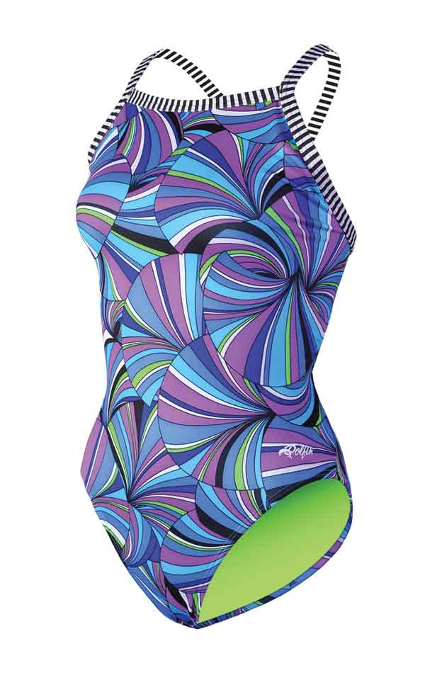 DOLFIN Uglies Female V2 Back - Spiro