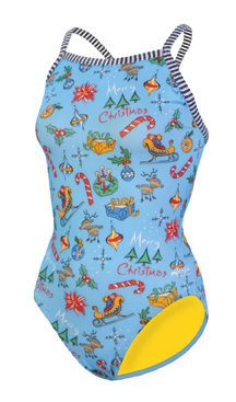 DOLFIN Uglies Female V2 Back - Merry Merry