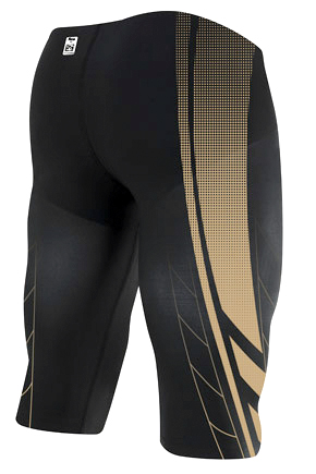 TYR AP12 Compression Speed Short (Black/Gold)