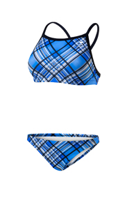 TYR Pacific Plaid Diamondback Workout Bikini