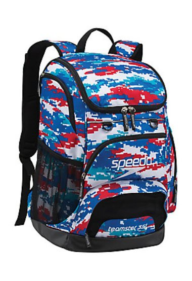 aa5c23cf4e34 SPEEDO Large Teamster Backpack - 35L (Digi Camo RWB (964))