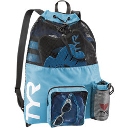 TYR Big Mesh Mummy Backpack (Blue (420))