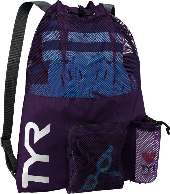 TYR Big Mesh Mummy Backpack (Purple (510))