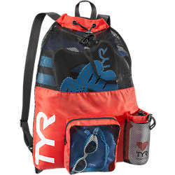 TYR Big Mesh Mummy Backpack (Red (610))