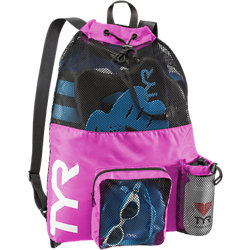 TYR Big Mesh Mummy Backpack (Pink (670))