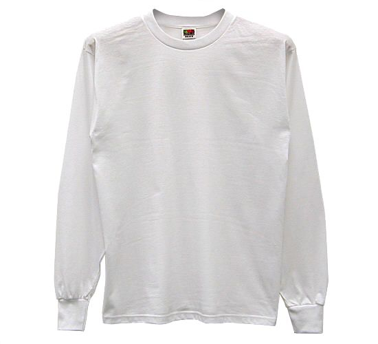 Solid Long Sleeve Shirt - 50/50blend