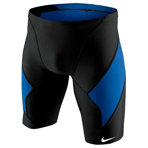 1dfb65461a NIKE SWIM Victory Color Block Jammer NESS4039. Black (001). Court Green  (313). Game ...