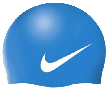 NIKE SWIM Slogan Cap (Photo Blue (458)) 7ab31707071