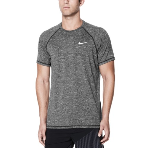 bc3b2a7528a1 NIKE SWIM Men s Short Sleeve Hydroguard