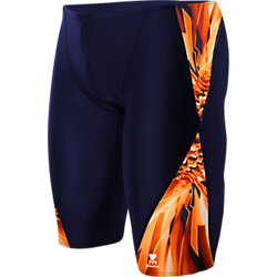 TYR Male Atlas Blade Splice Jammer (Navy/Orange(406))