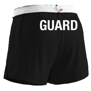 Female Lifeguard Soffee Short (Guard Logo Rear)