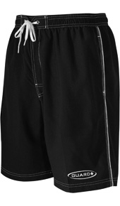 TYR Lifeguard Shorts - Male Challenger Trunk (Black)