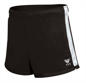 TYR Female Warm-Up Shorts - Adult (Black)