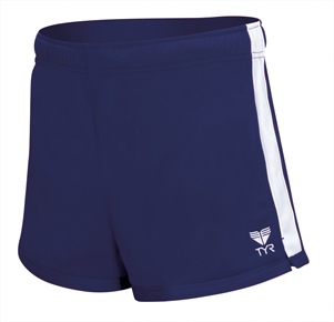 TYR Female Warm-Up Shorts - Adult (Navy)